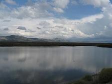Comins Lake Reflection
