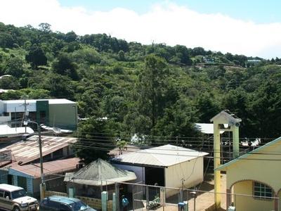 Commercial Street In Santa Elena