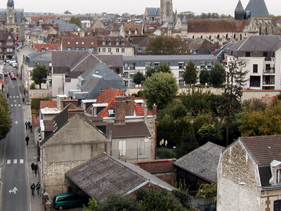 View Of Compiegne