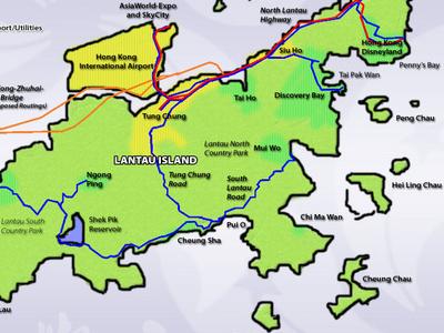 Concept  Plan For  Lantau