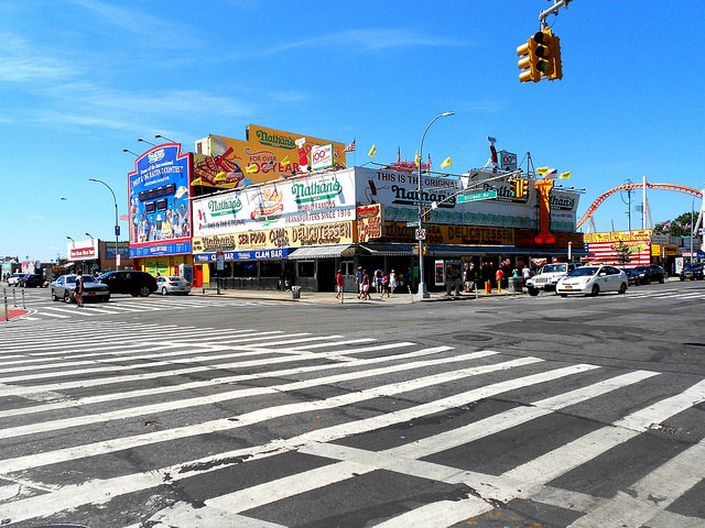 Coney Island - Then and Now Photos