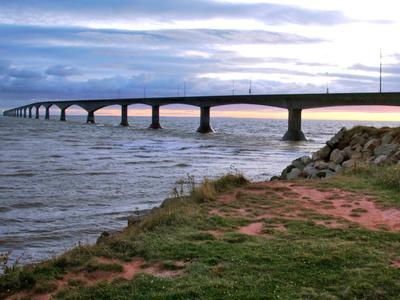 The Bridge From Prince Edward Island
