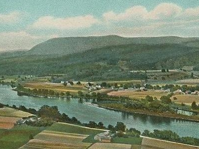 Connecticut River From Mt. Sugarloaf South Deerfield