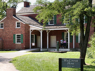 Conner Prairie Original House