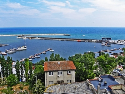 Constanta Marina Overview - Constanta City