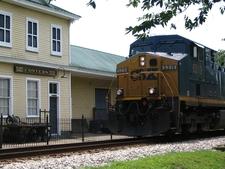 Conyers Depot Train