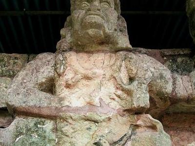 Copan Sculpture
