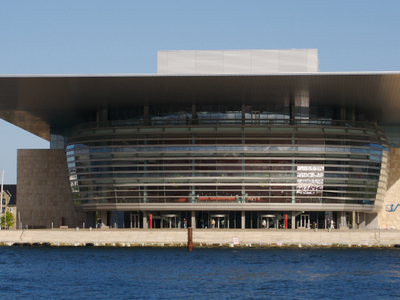 Front View Of The Opera House