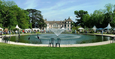 Coppet  Castle Pan