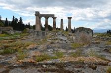 Corinth Ruins Landscape