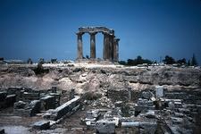 Corinth - Temple Of Apollo (II)