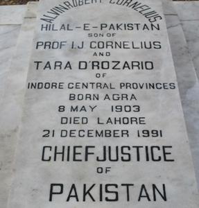 Grave Of A. R. Cornelius