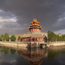 Corner Tower Of The Forbidden City