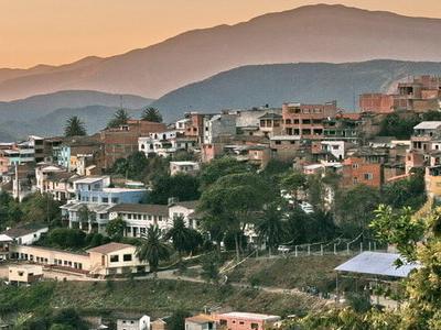 Coroico Town