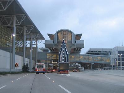 Corridor Leading To Terminal E And Terminal D