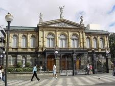 Costa Rica National Theatre In San Jose