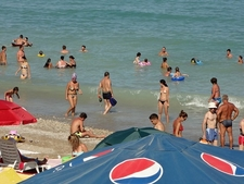 Costinesti Beach Crowd - Constanta Romania