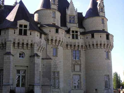 View Of The Chateau's Towers