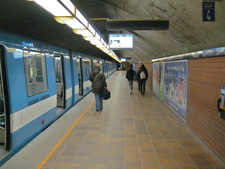 Cote Metro Vertu Station