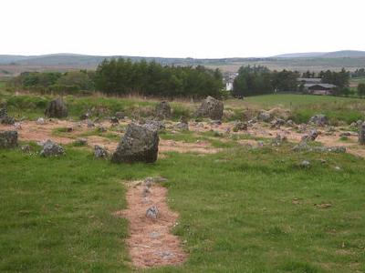 Stone Circle At Beaghmore