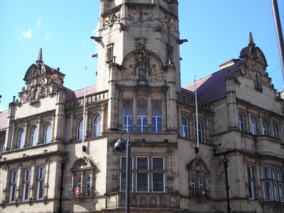 County  Hall    Wood  Street    Wakefield