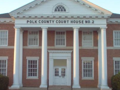 Courthouse Of  Polk  County