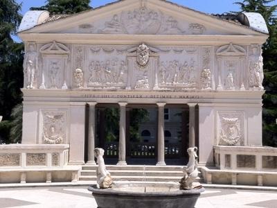 Courtyard Of The  Casina  Pio  I V