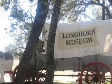Covered Wagon At Longhorn Museum In Pleasanton 2 C T X I