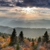 Cowee Mountain Overlook - Blue Ridge Parkway NC