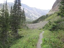Cracker Lake Trail-views - Glacier - Montana - USA
