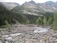 Cracker Lake Trail Views - Glacier - Montana - USA