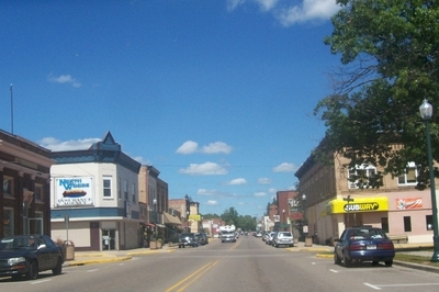 Crandon Wisconsin Downtown