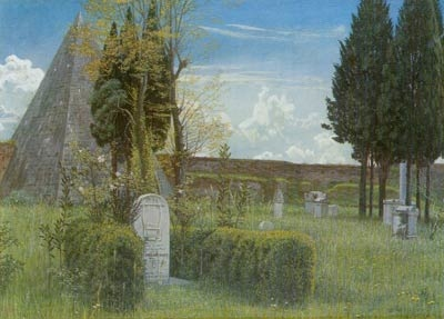 Gravestone At Protestant Cemetery