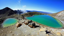 Crater Lakes @ Tongariro Crossing - North Island NZ