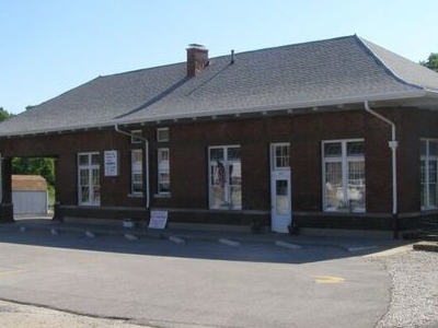 Crawfordsville  Train  Station  Indiana
