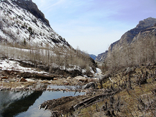 Creek Seeping Through Lamoille Canyon