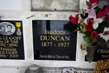 Cremated Remains Of Isadora Duncan In The Columbarium