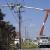 Crews Work Melbourne Beach FL