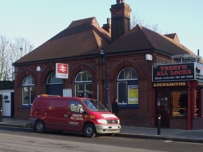 Crofton Park Station Building