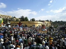 Crowd @ Gondar ET Amhara