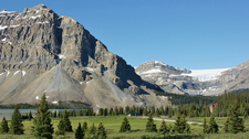 Crowfeet Mountain - Glacier - USA
