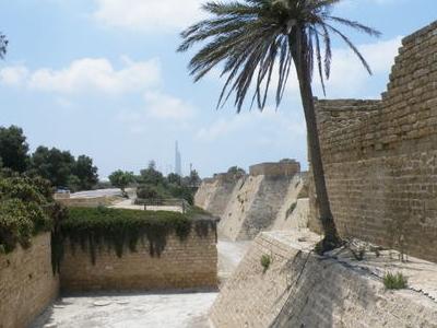 Crusader Walls And Moat