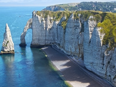 Côte D'Albâtre Chalk Cliffs