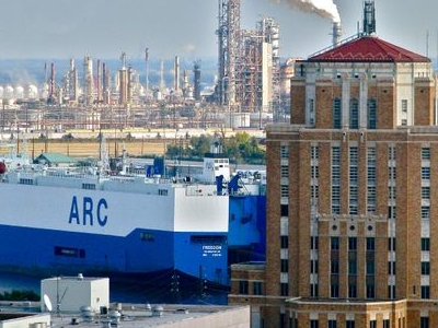 Refineries, Port Of Beaumont