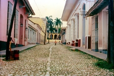 A Typical, Colonial Street