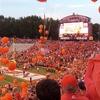 Clemson Memorial Stadium Before Game