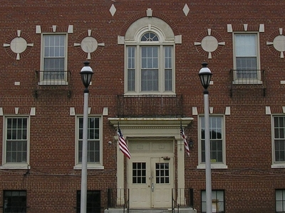 Cumberland County Courthouse In Burkesville