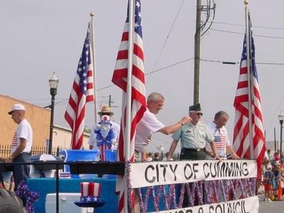 Cumming Mayor