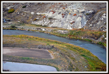 Cut Bank Creek In Glacier - USA