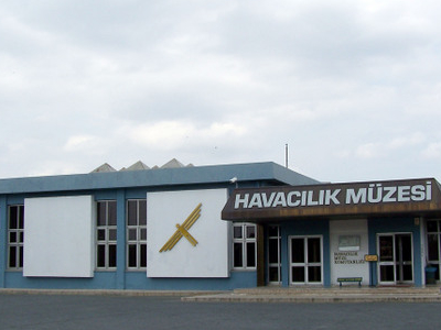 Front View Of Istanbul Aviation Museum